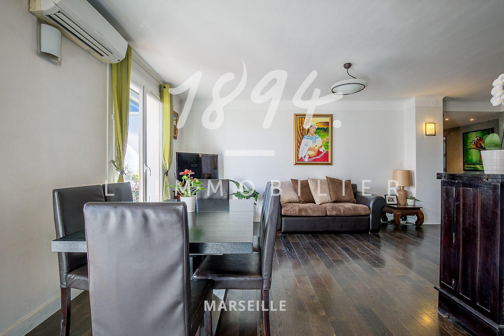 Très bel appartement - T4 traversan de 84M2 - Les Catalans