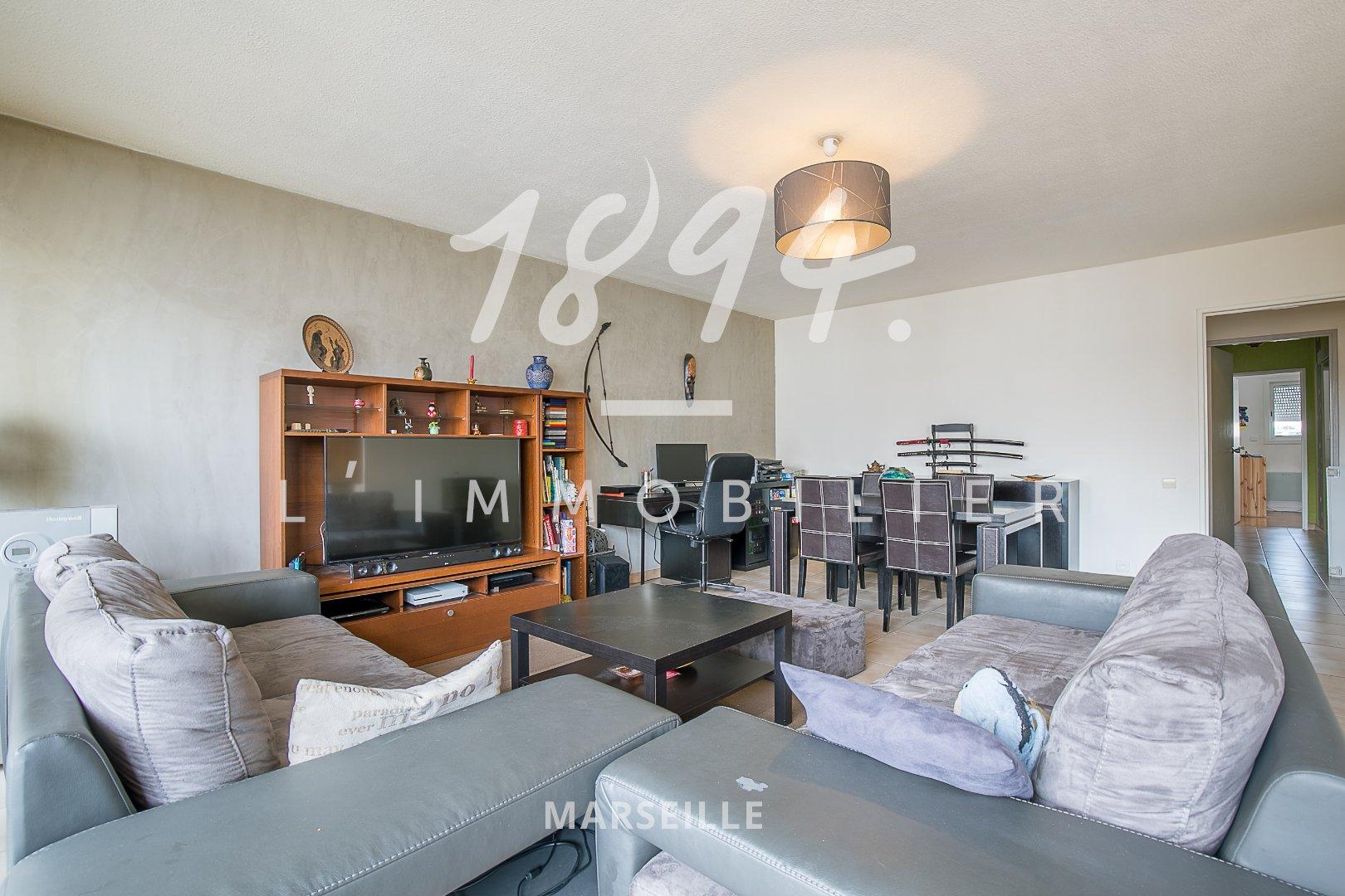 Appartement T4 de 94 m2 avec cave et parking dans le quartier de MALPASSE