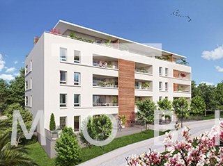 T3 de 70 m² + 75 m² de jardin + 40 m² de terrasse + box double