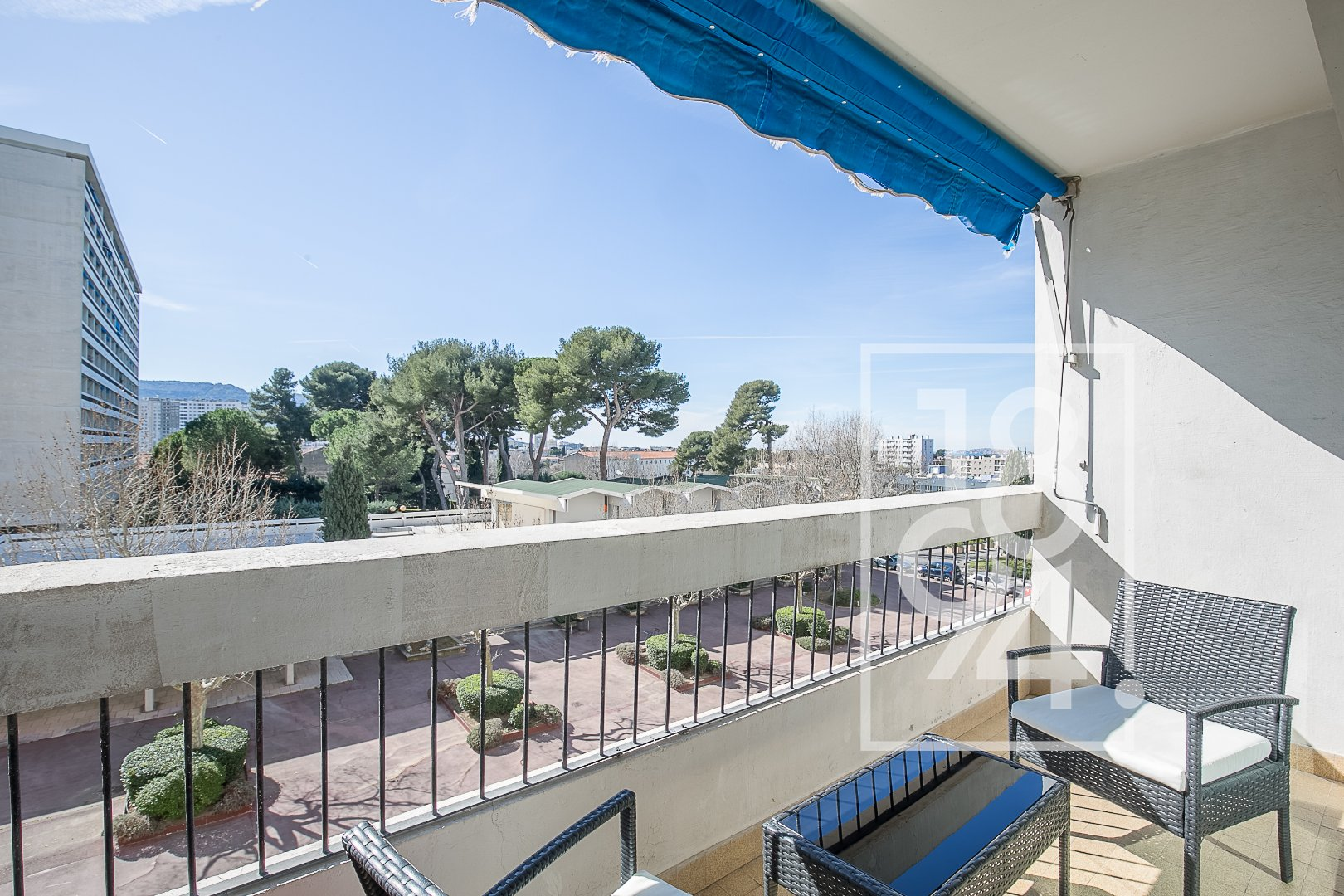 T3 rénové avec balcons secteur Cabot / Joseph Aiguier