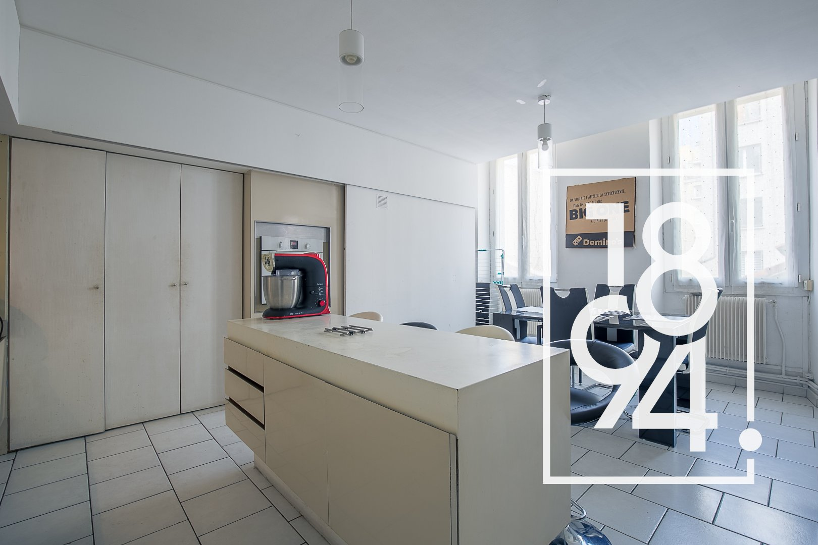 Grand T3 81,39 m² habitable (74,47m² LC) - Haussmannien - Friche Belle de Mai 13003