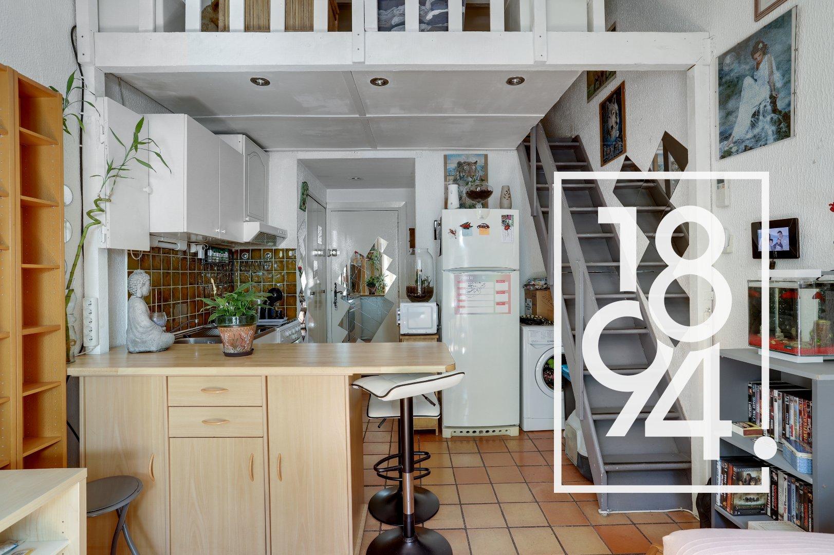 Studio 18m2 avec jardinet Font Mourier
