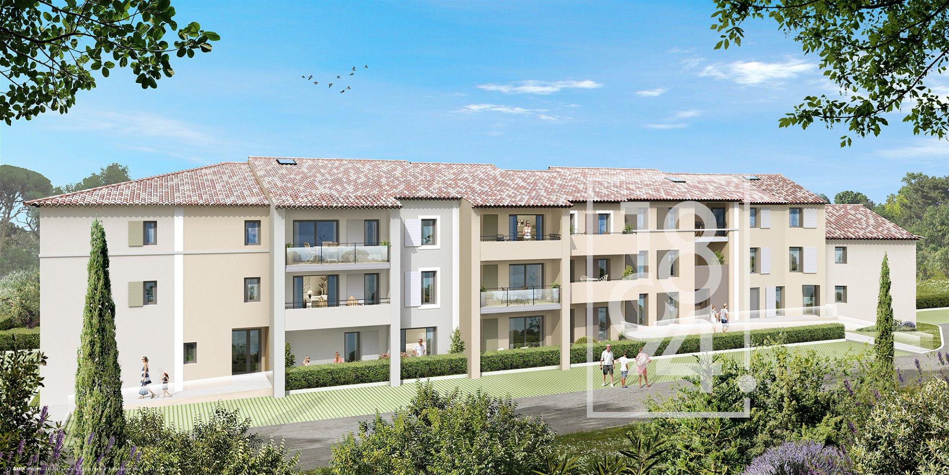 Rognes programme neuf T3 d'environ 60m2 avec terrasse + deux place de parking