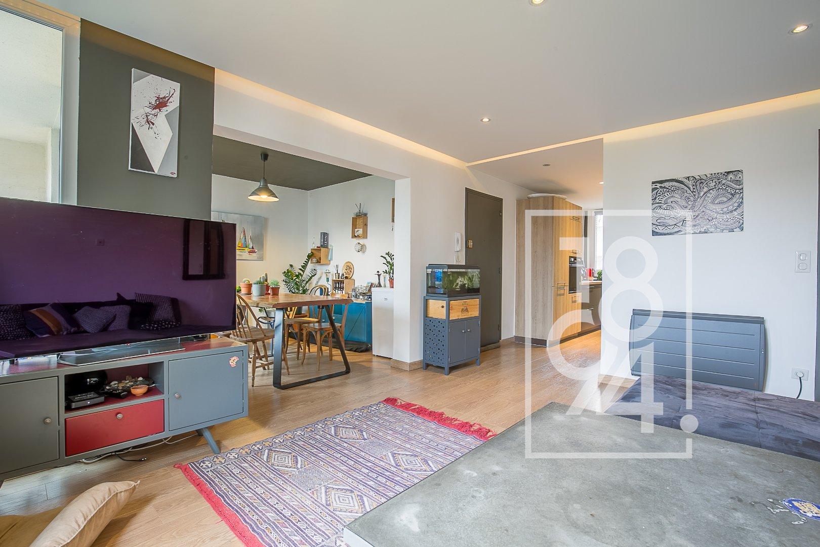 Appartement T3 de 64m² rénové avec une cave