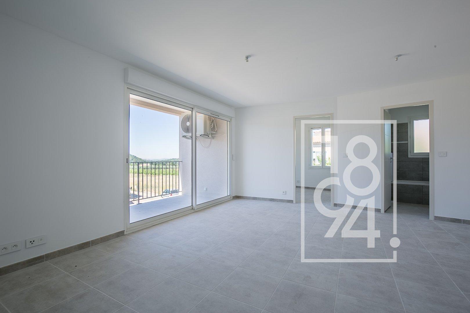 Appartement T3 55m² avec balcon et 2 places de parking