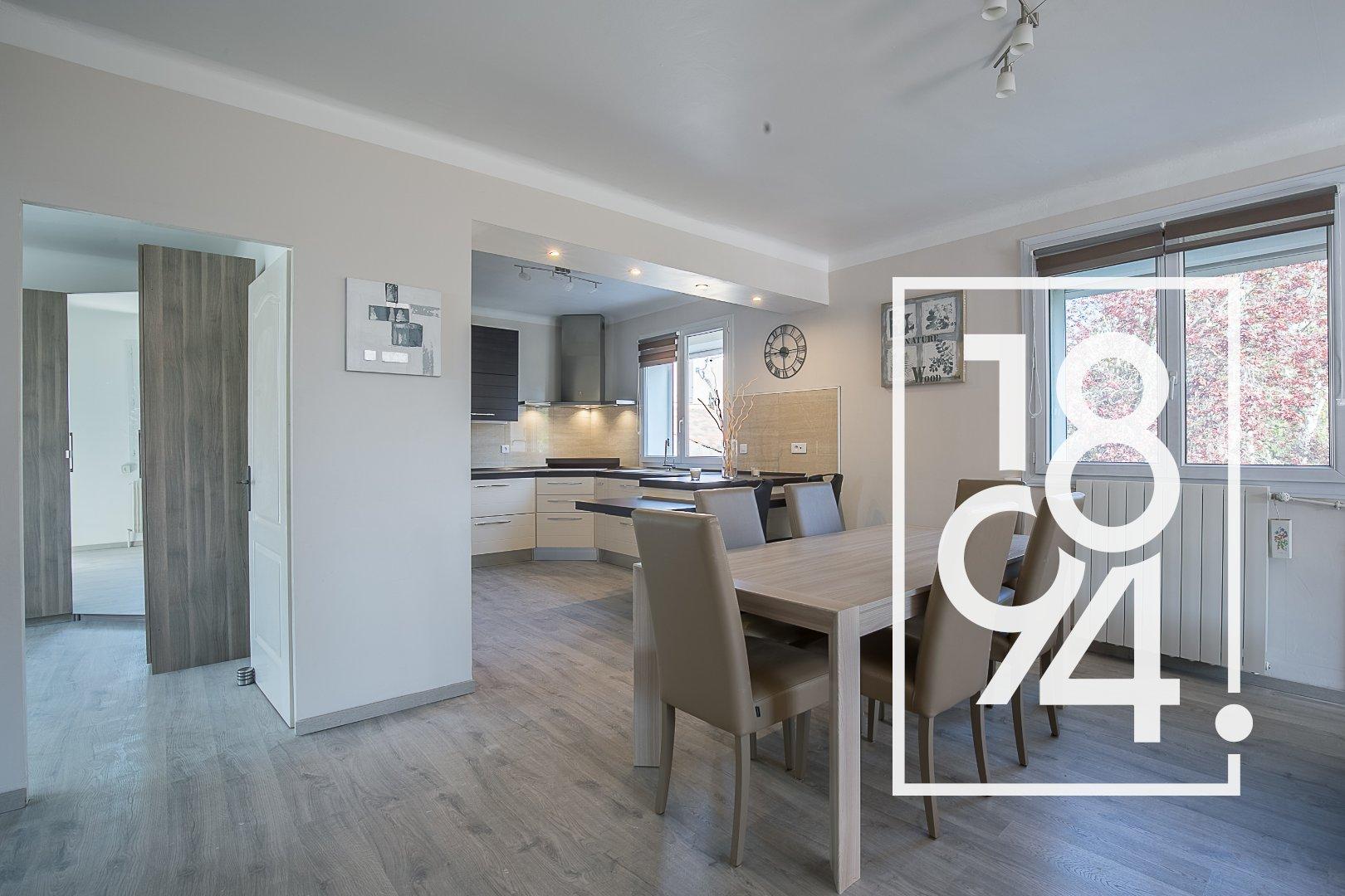 Appartement de type T4 refait à neuf avec terrasse et jardin, à Gardanne