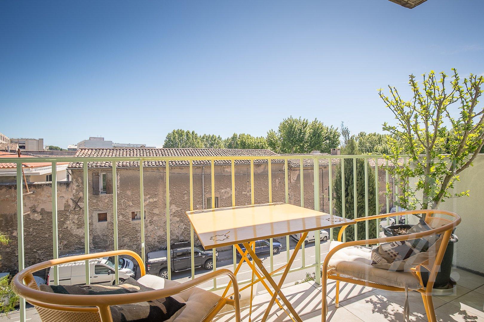 T4 67m² traversant S/N avec balcon