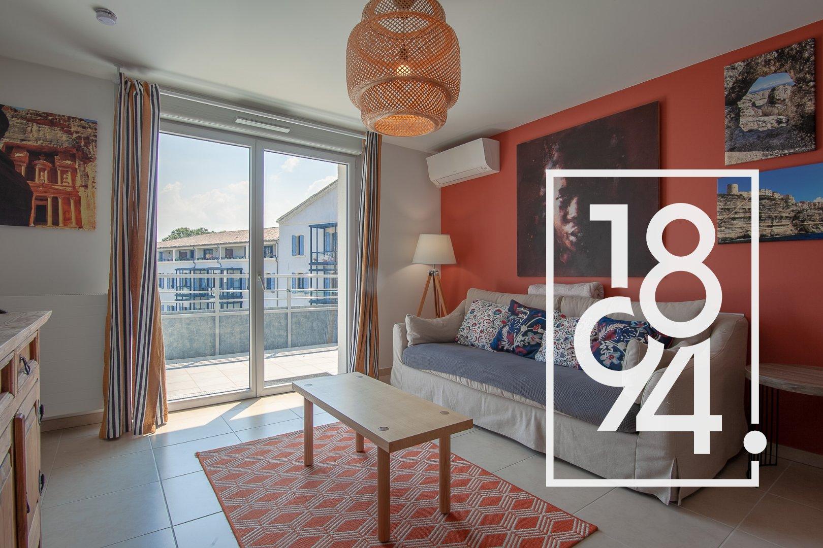 Appartement T2 45m² terrasse en dernier étage Parc Gabriel Manosque