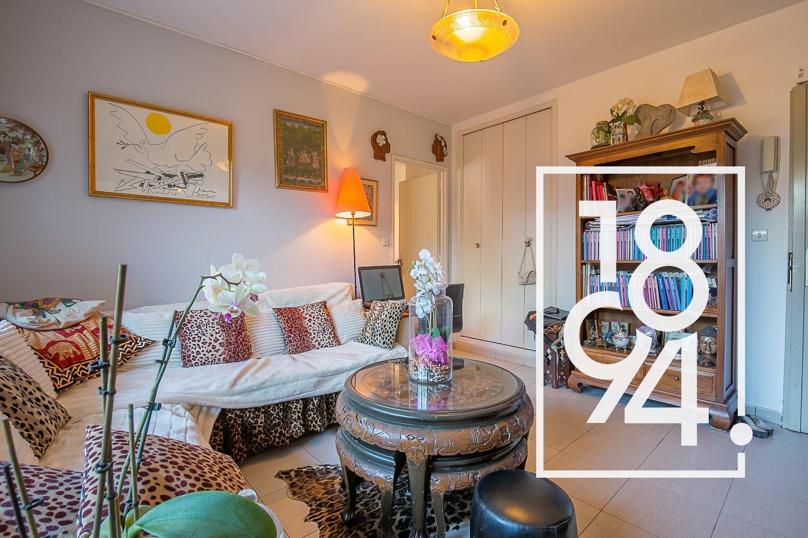 Appartement T2, 39 m2 avec terrasse et cave proche centre ville