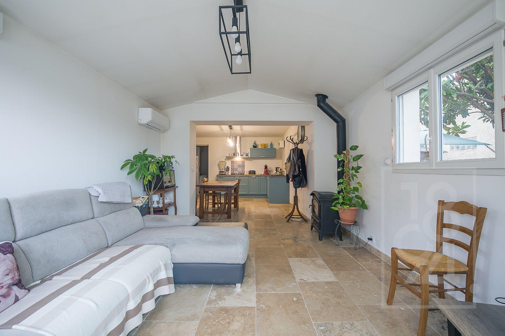 Maison 140m² divisée en 2 appartements T3 proche hyper U