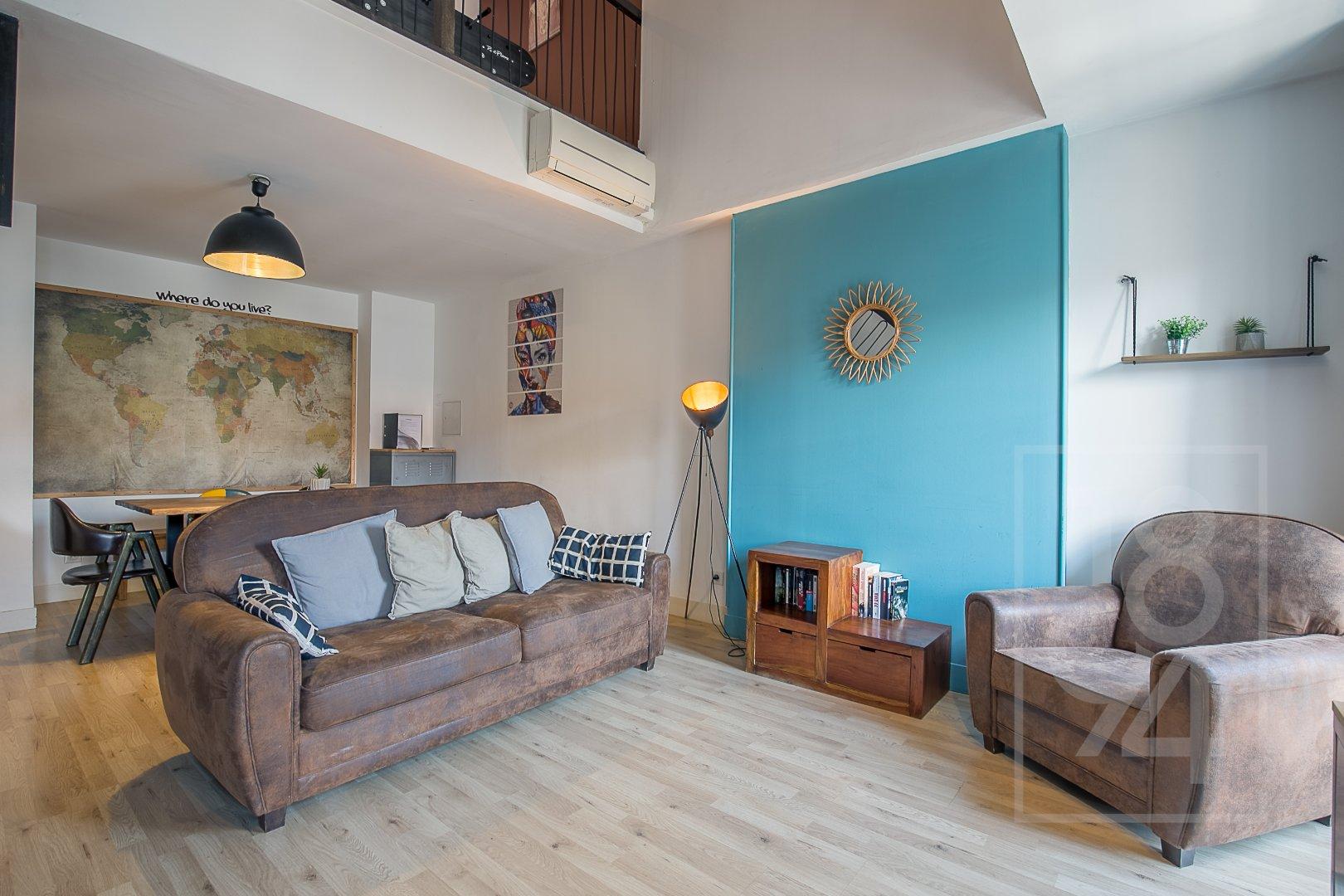 Appartement Duplex T3 de 91m² République 2°arrdt