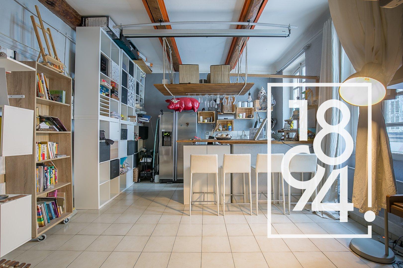 Studio mezzanine - Cours Julien
