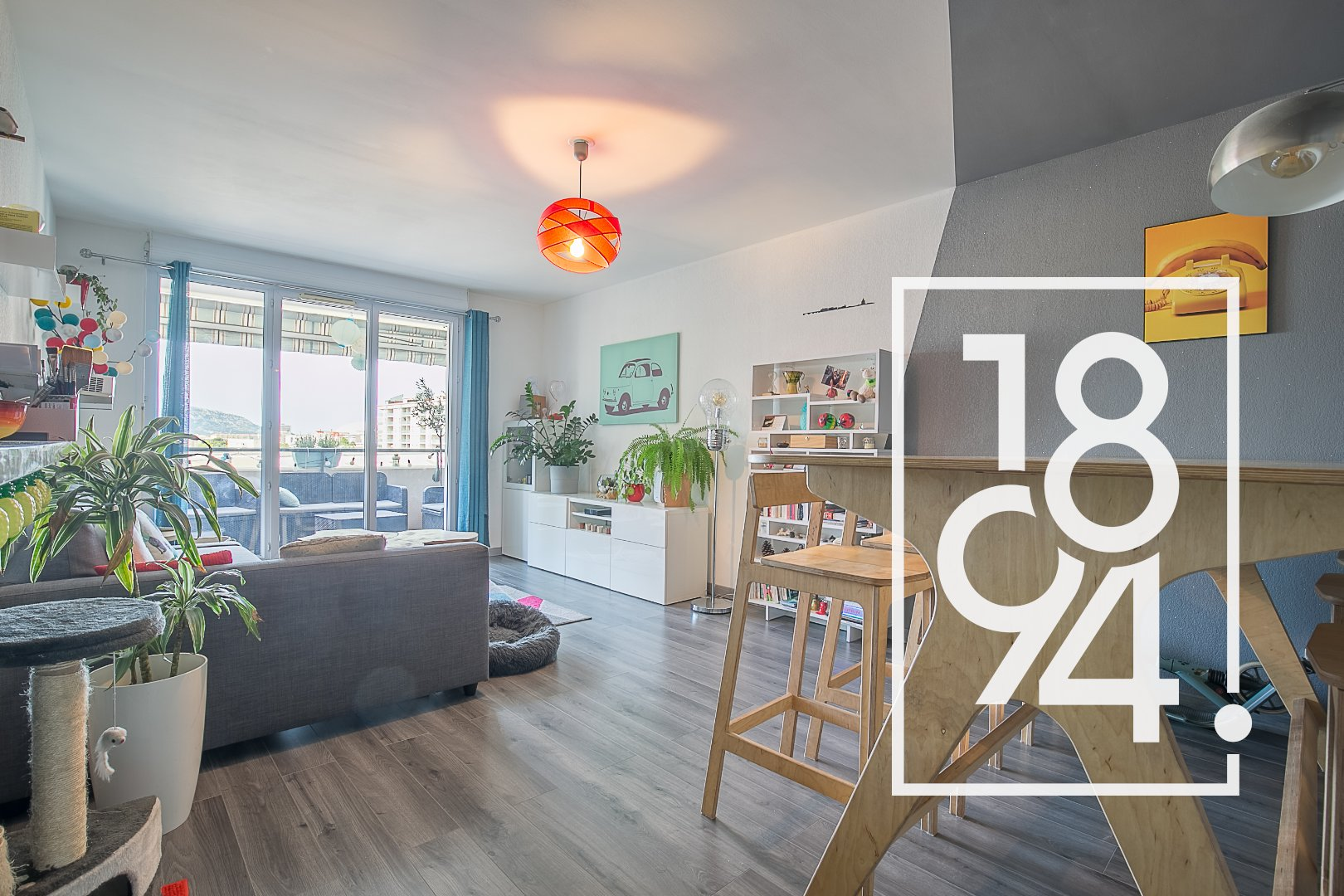 Appartement Type 3 en résidence