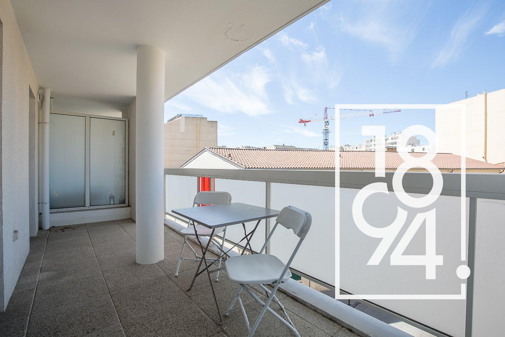 Appartement T2 40 m2 terrasse ROUET/PRADO