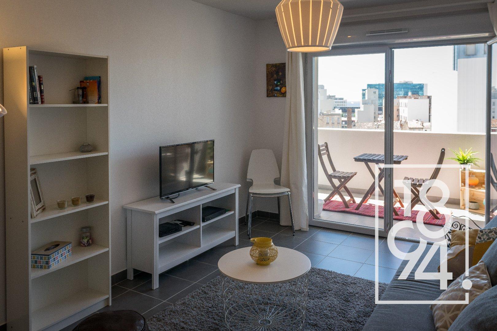 Appartement T2 vendu entièrement meublé