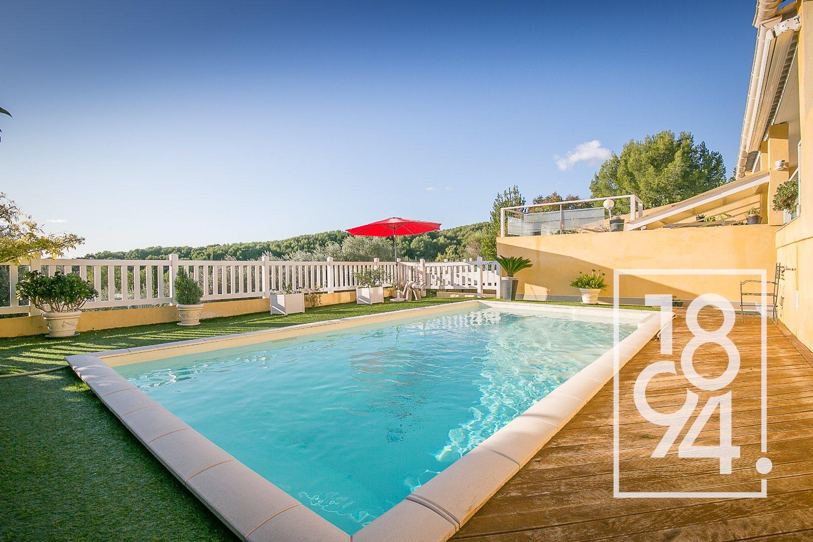 Très belle villa située au calme à Gemenos