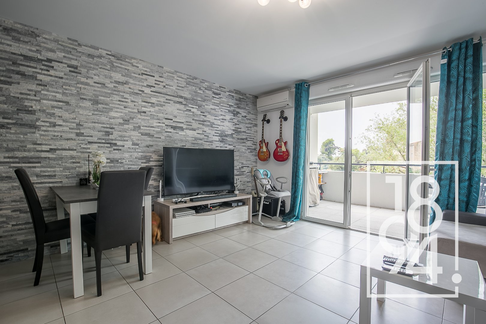 Appartement T3 59m2 Chateau Gombert