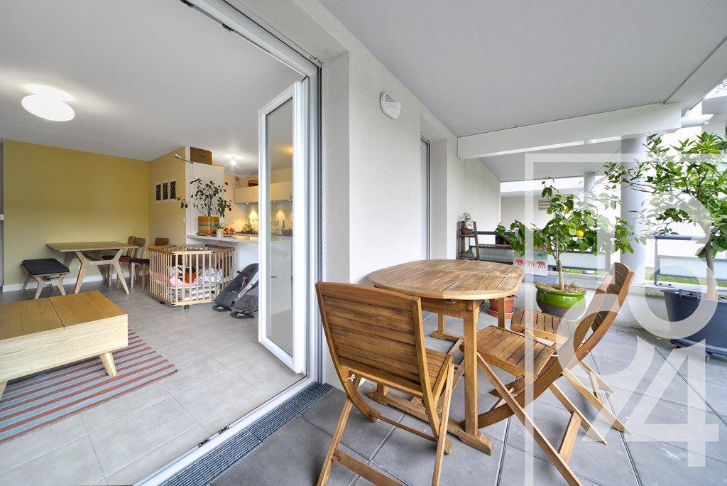 Appartement T4, 82m² + 13m² de terrasse, Toulouse 31400, Côte Pavée