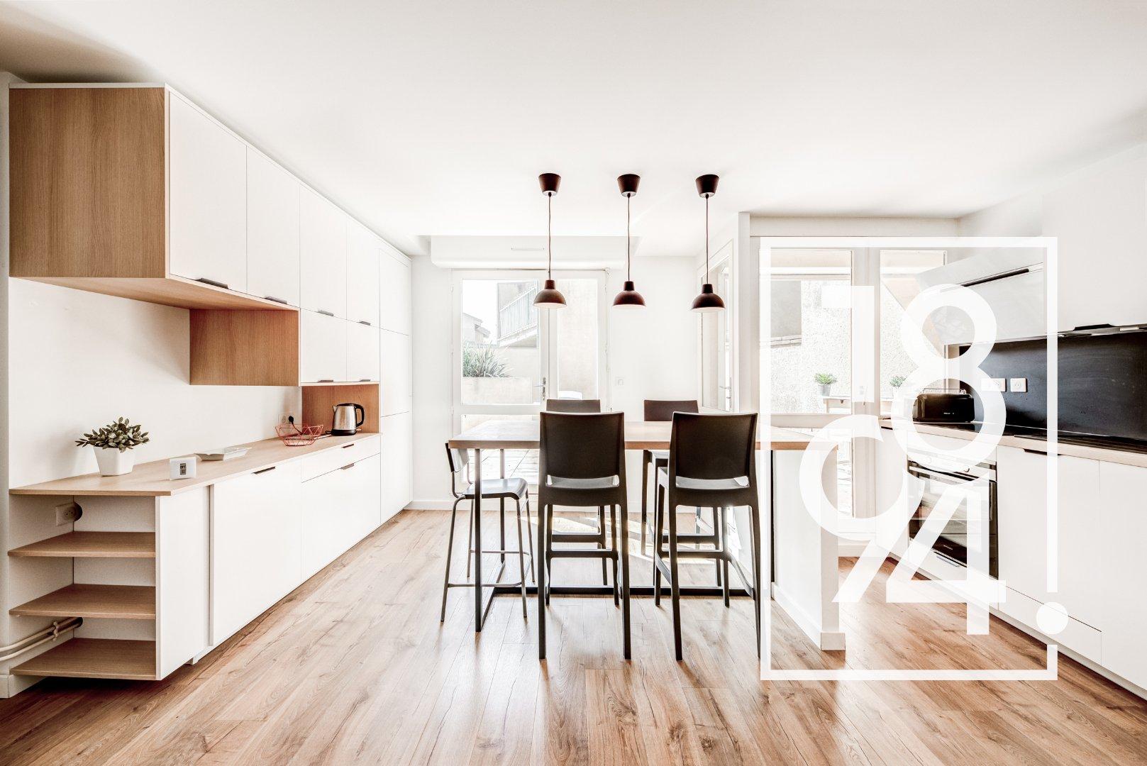 EXCLUSIVITE!!! Appartement T2 avec terrasse de 31m² + Garage boxé, Saint Aubin, 31000 TOULOUSE