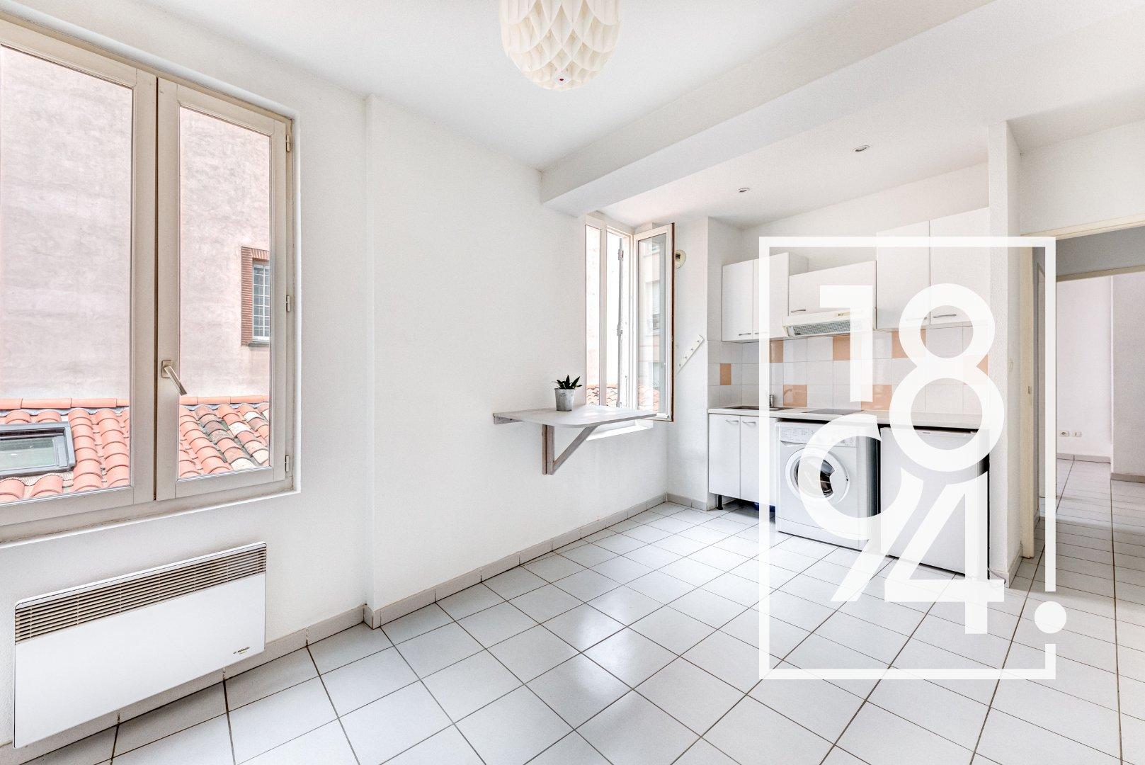 BIEN RARE!!! Appartement T2, Quai de la Daurade / Place St Pierre, Toulouse 31000