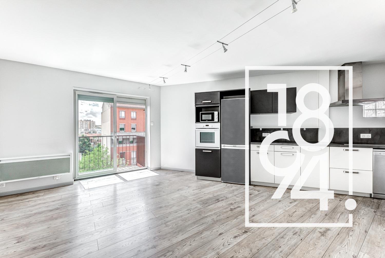 EXCLUSIVITE!!! Appartement T3 en dernier étage avec balcon + Garage 20m² + cellier, St Cyprien / Patte d'oie, 31300 Toulouse