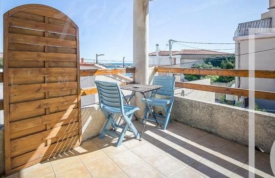 APPARTEMENT T3 50M2 BALCON VUE MER 13500 CARRO