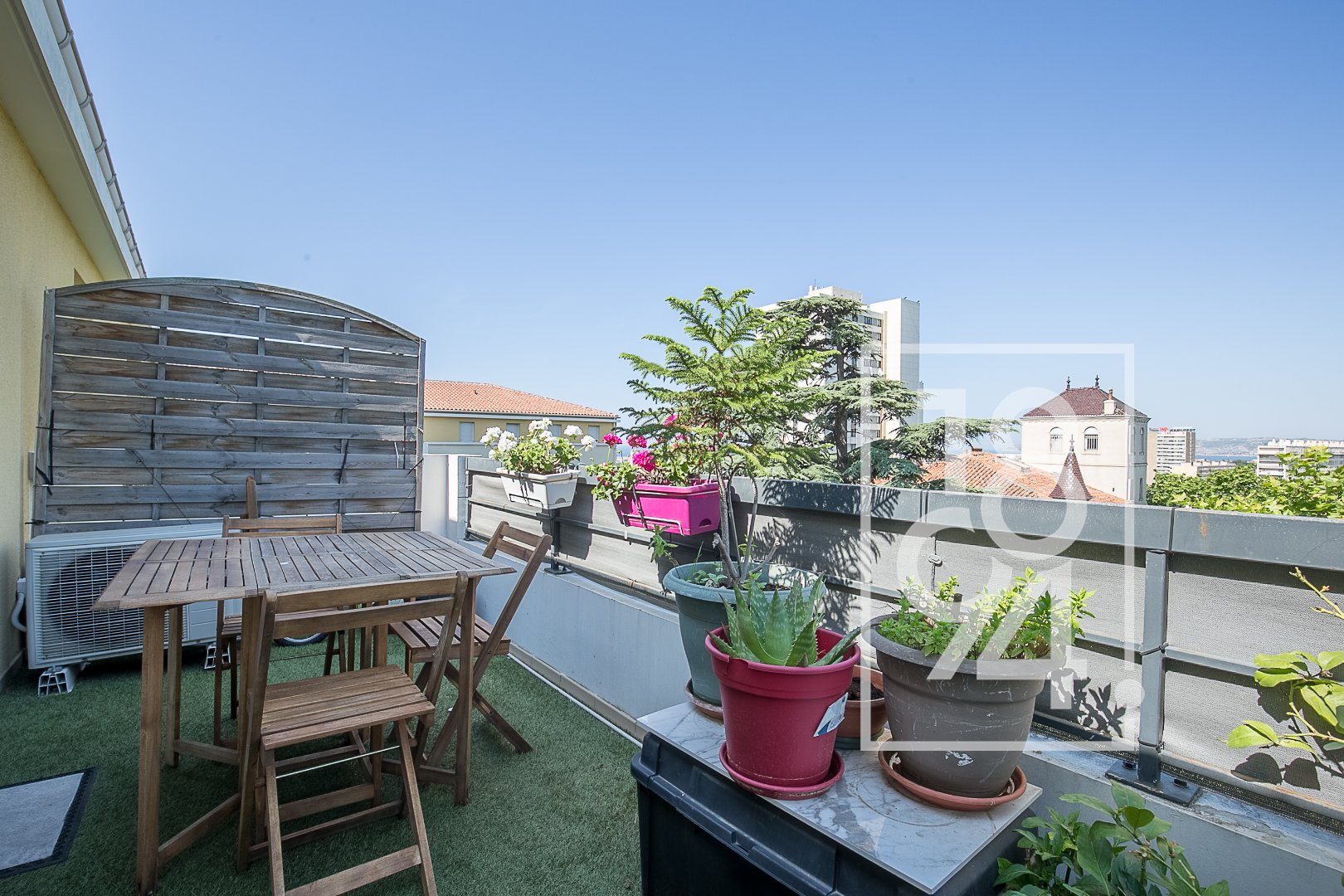 APPARTEMENT T3 59M2 TERRASSE VUE DEGAGEE PARKING RESIDENCE SECURISEE 13014 MARSEILLE