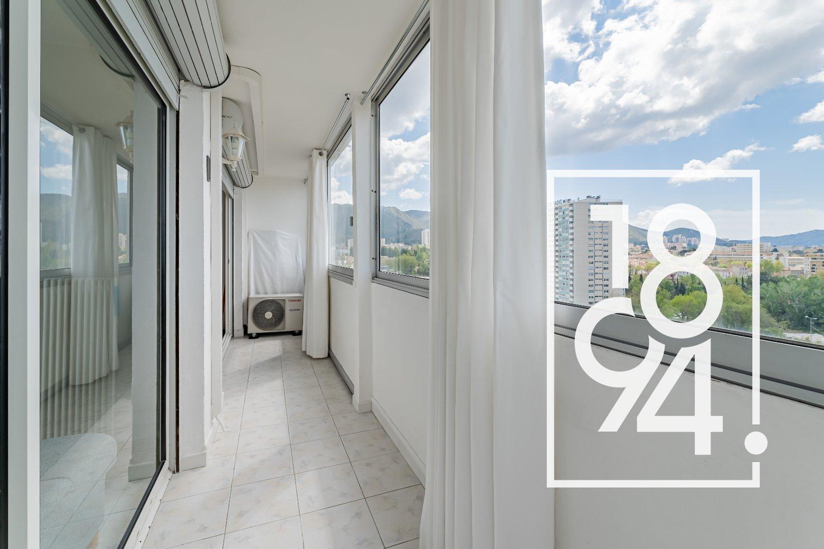 Appartement T4 avec Balcon refait à neuf