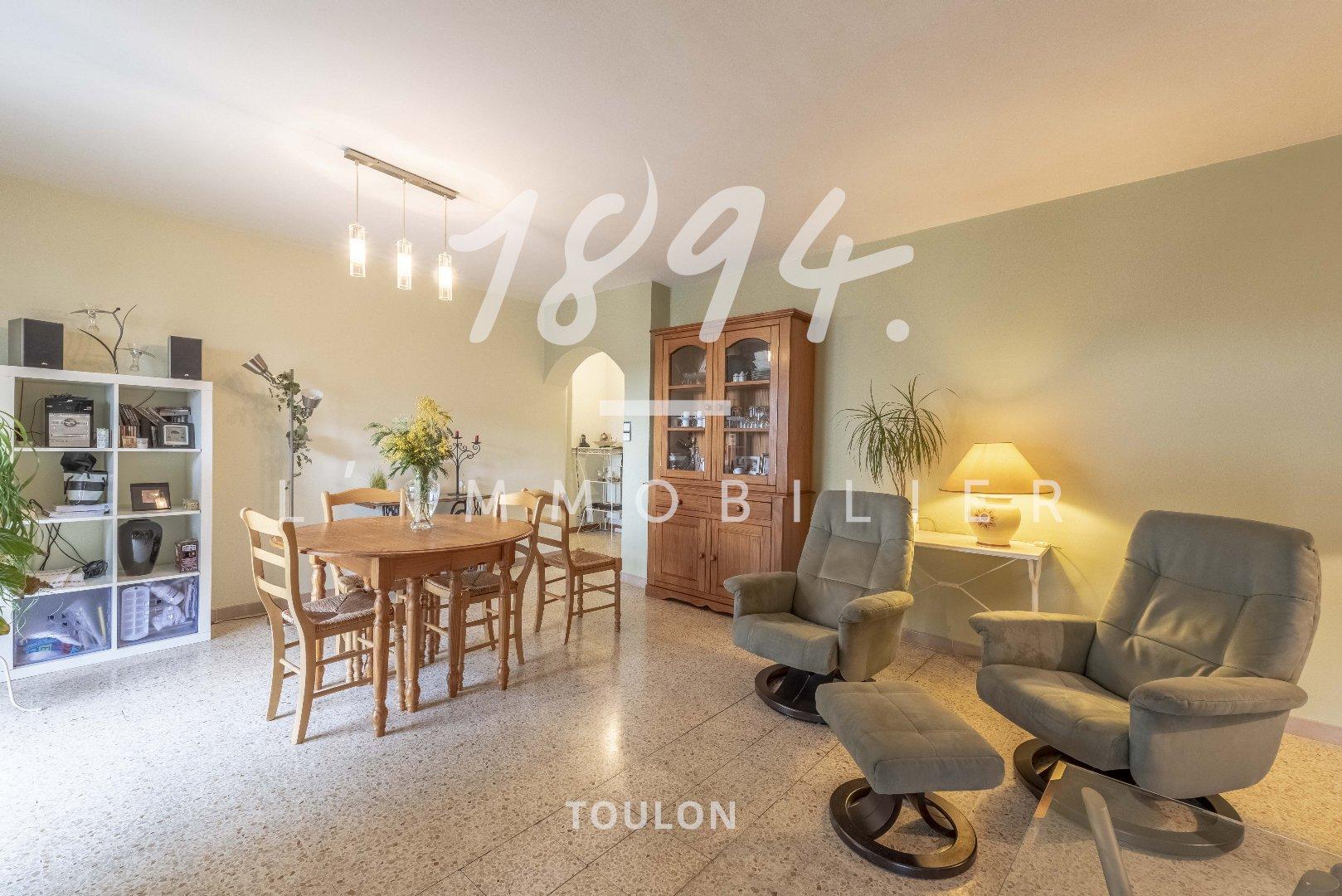 T5 88m2 / Mourillon / Parking interieur