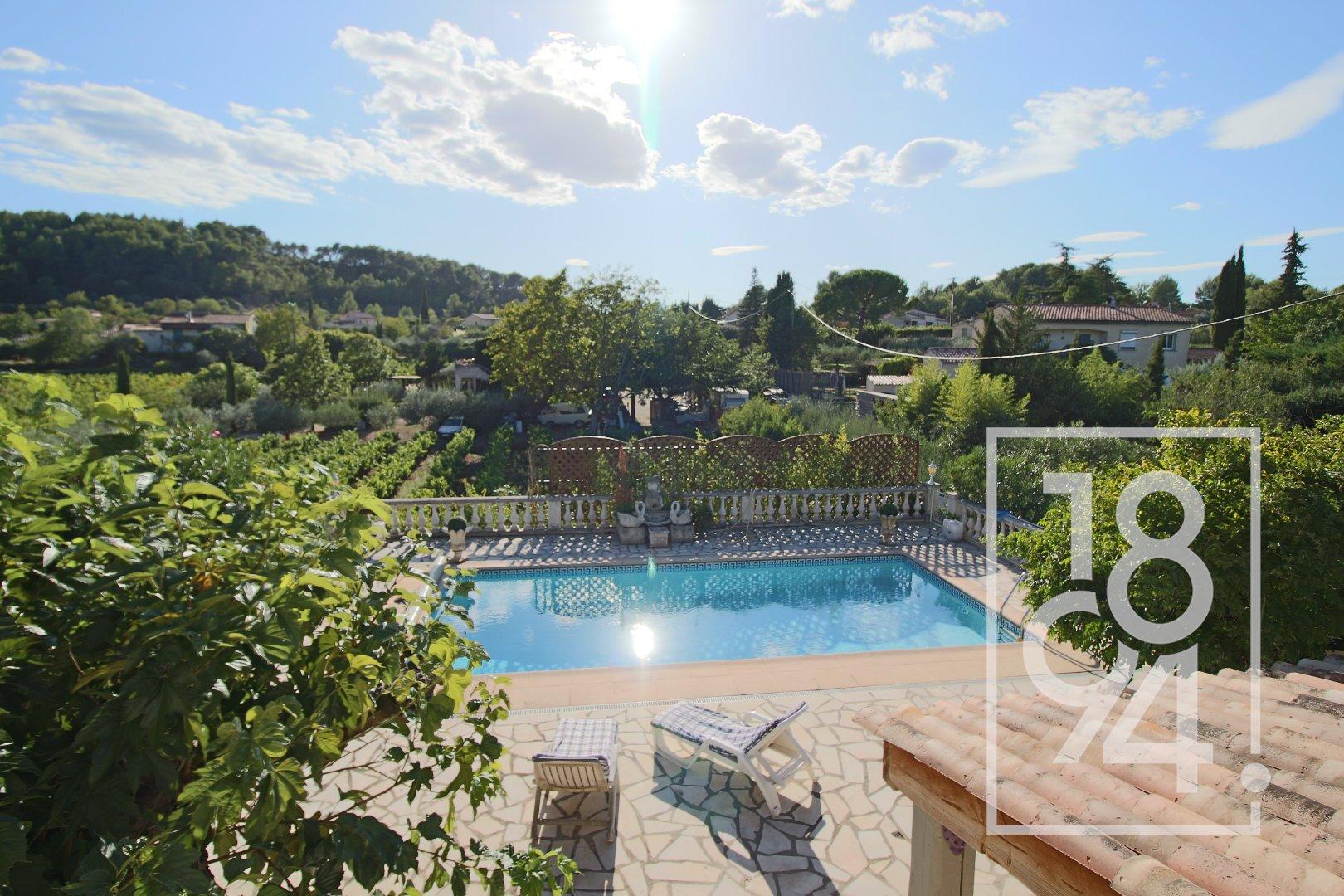 Villa de charme T6 + dépendance à Draguignan (Var 83)